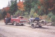 My truck and ATV's