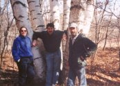 Group shot - in the birch